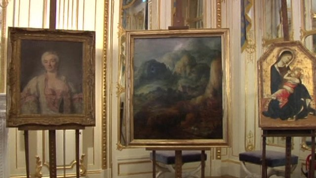 VIDEO: Nazi stolen art returned to relatives...
