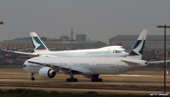 Cathay Pacific profits rise 204%...