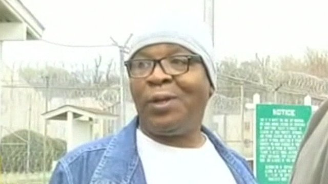 BBC News – US man walks free after 25 years on death row