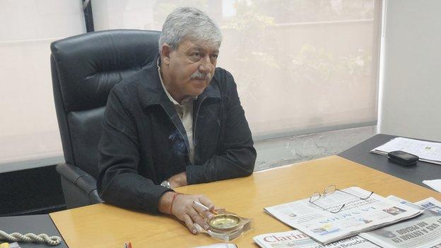 Eduardo Buzzi, president of the Argentine Agrarian Federation