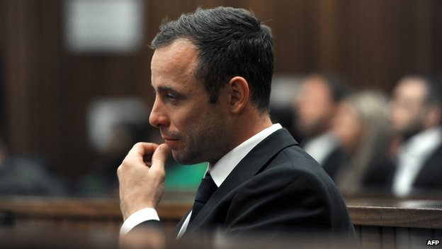 Oscar Pistorius 12 March