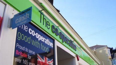 Co-operative supermarket
