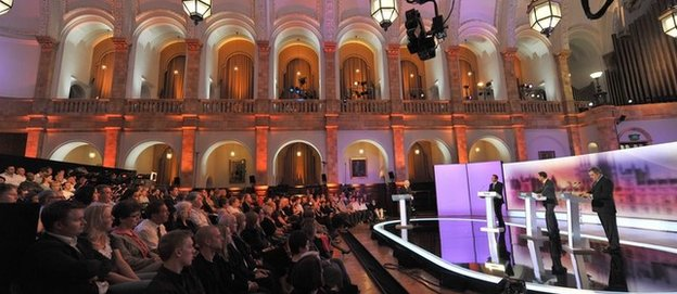 The General Election debates in 2010