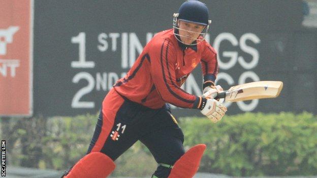 Ed Farley batting