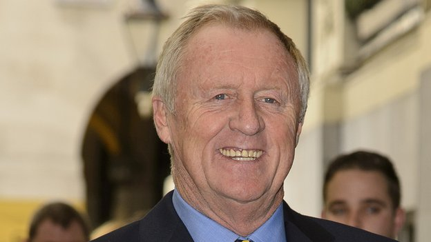 Chris Tarrant, pictured in October 2013