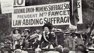 Millicent Fawcett's Hyde Park address in 1913