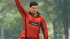 Anthony Hawkins-Kay took three wickets for Jersey