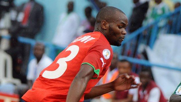 Malawi defender Moses Chavula