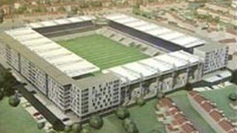 Plans to expand Bristol's Memorial Stadium