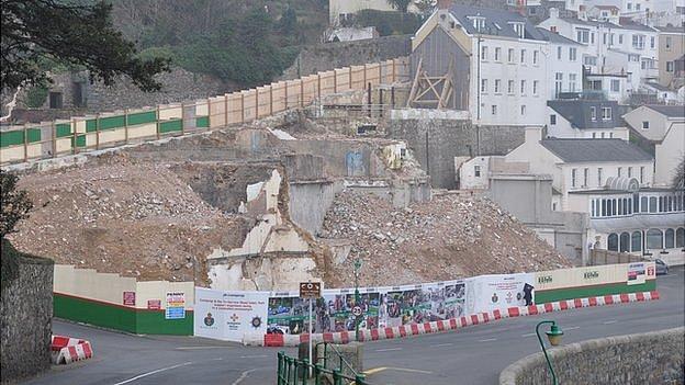 Guernsey Brewery site