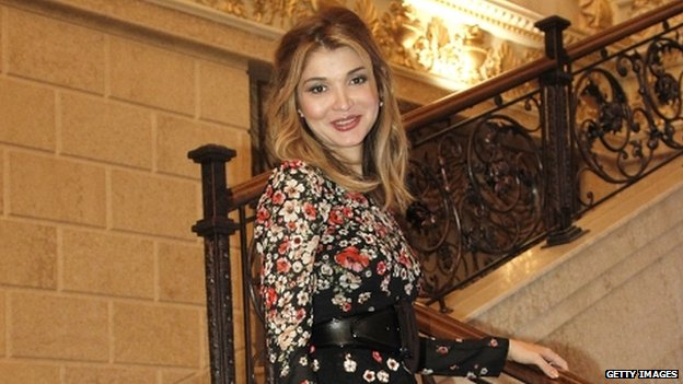 File pic Gulnara Karimova (2013)