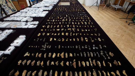The collection - worth £3.2m - now contains more than 4,000 pieces.