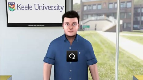 virtual adviser, Keele University