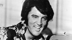 A picture of Elvis Presley