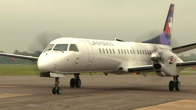 Darwin Airlines jet