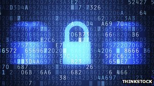Cyber-security padlock
