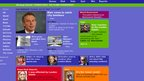 2005 and the NR website goes all purple. Comments from viewers take pride of place on the front page, as what Newsround viewers think about stories becomes more and more important to the site. Here you can see comments on the terror attacks in London from July that year.