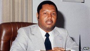 Jean-Claude Duvalier, 1982