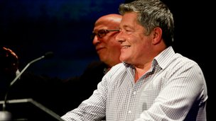 Alan Boyd with Ken Bruce