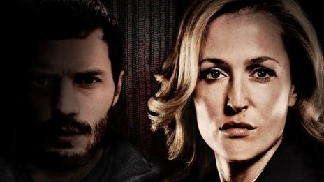 Jamie Dornan and Gillian Anderson