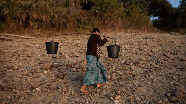 Woman in Myanmar
