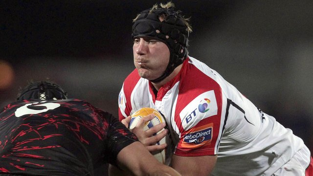Stephen Ferris could make his comeback to action on Friday night