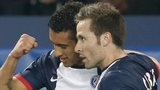 Marquinhos and Yohan Cabaye