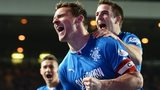 Rangers captain Lee McCulloch scored two early penalties at Ibrox