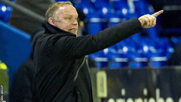 Inverness manager John Hughes