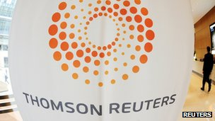 Multinational media firm Thomson Reuters