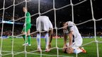 Manchester City's Joe Hart in goals