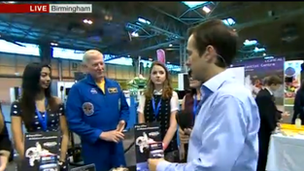 BBC Breakfast at The Big Bang Fair in Birmingham
