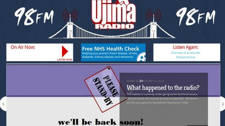 Ujima Radio website