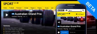 BBC Live Beta F1