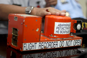 Flight data recorder recovered from Russian crash, 2012