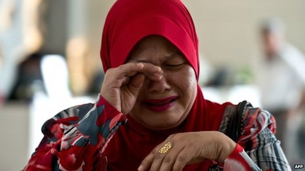Relatives of passengers on flight MH370 are still anxiously waiting for information