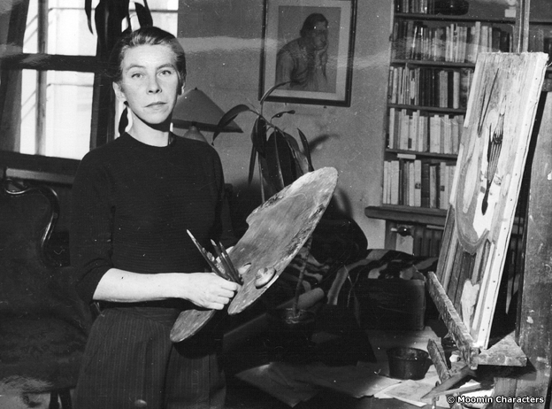 Tove Jansson painting