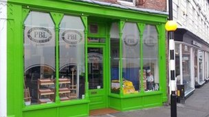 Pocklington's Bakery, Louth