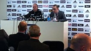 Pepe Mel press conference