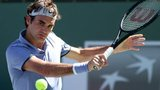 Roger Federer at Indian Wells