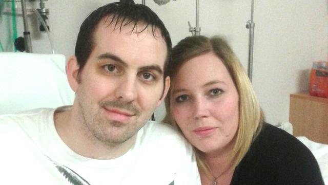 John Helliwell and wife Emma