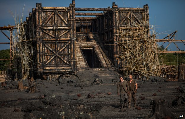 The ark in Noah