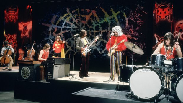 ELO performing on Top of the Pops in 1973
