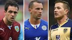 Danny Ings, Danny Drinkwater and Ross McCormack