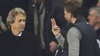 Jorge Jesus and Tim Sherwood
