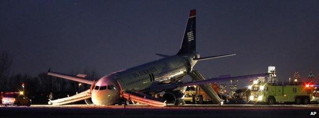 Plane in Philadelphia