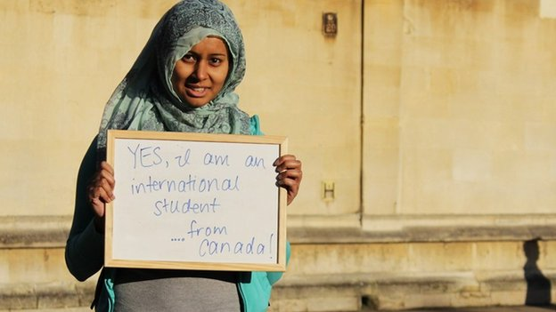Student in I Too Am Oxford campaign