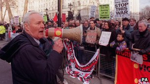 Tony Benn in 1998