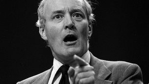 Tony Benn at 1981 Labour Party conference