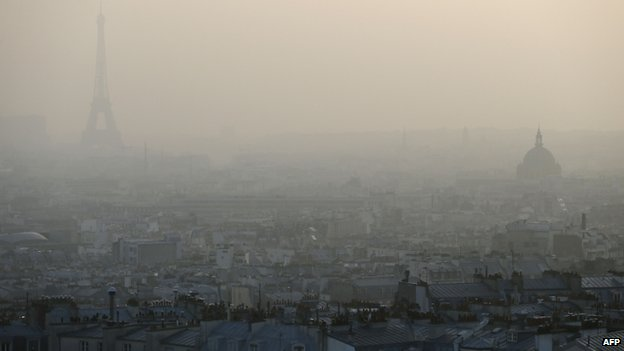 ... for three days to reduce severe smog caused by unusually warm weather